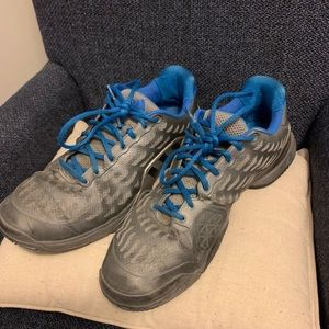 Adidas Barricade Tennis Shoe - Size 14 - Blue